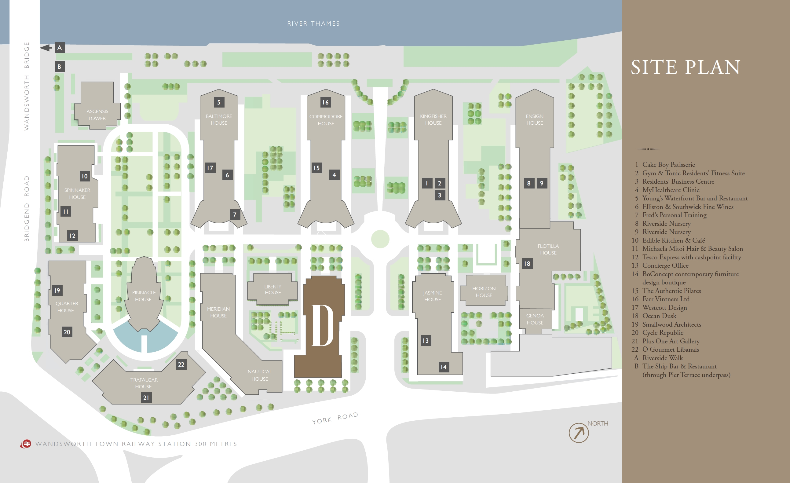 Discovery House site plan