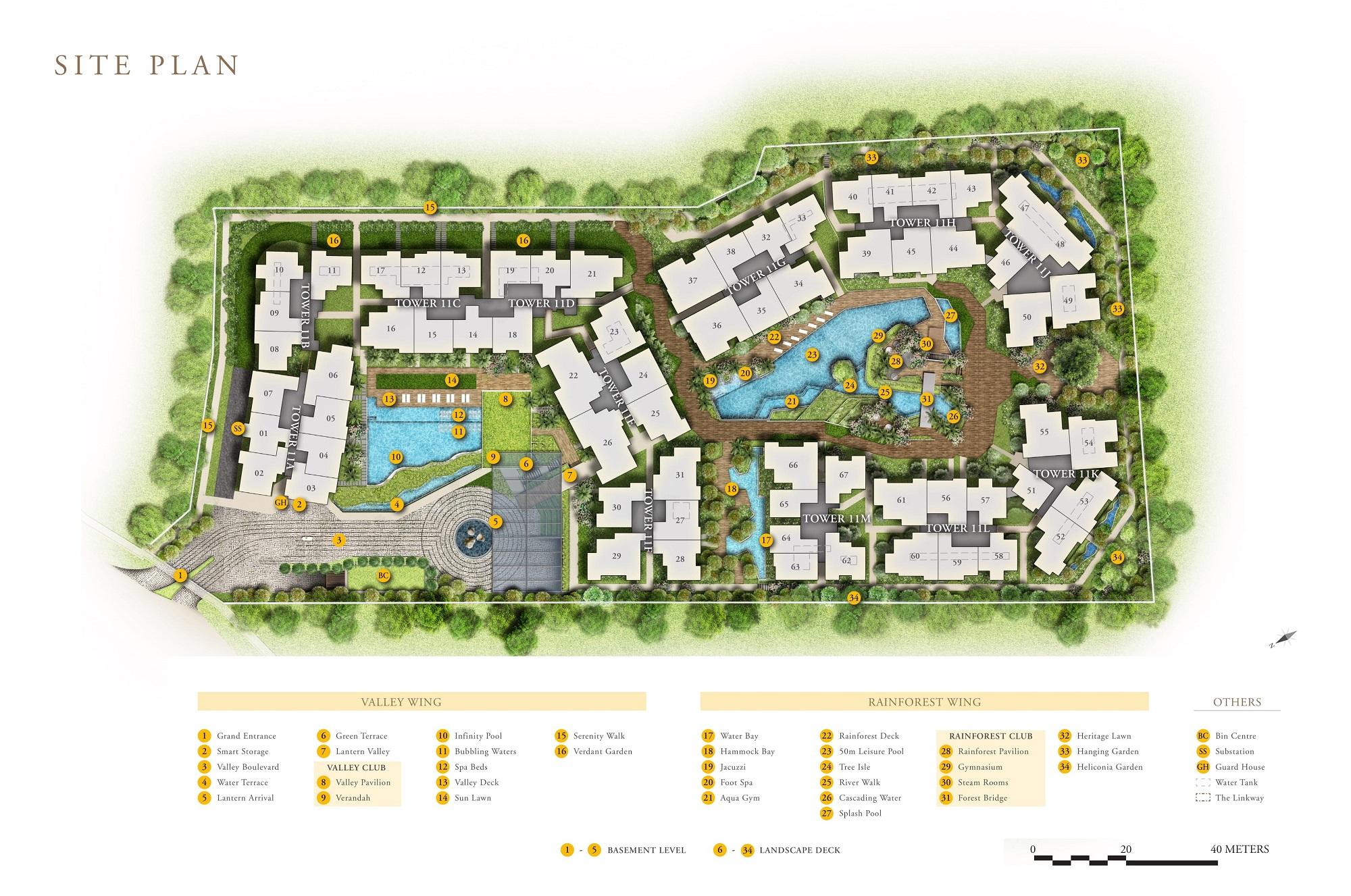 Daintree Residence site plan