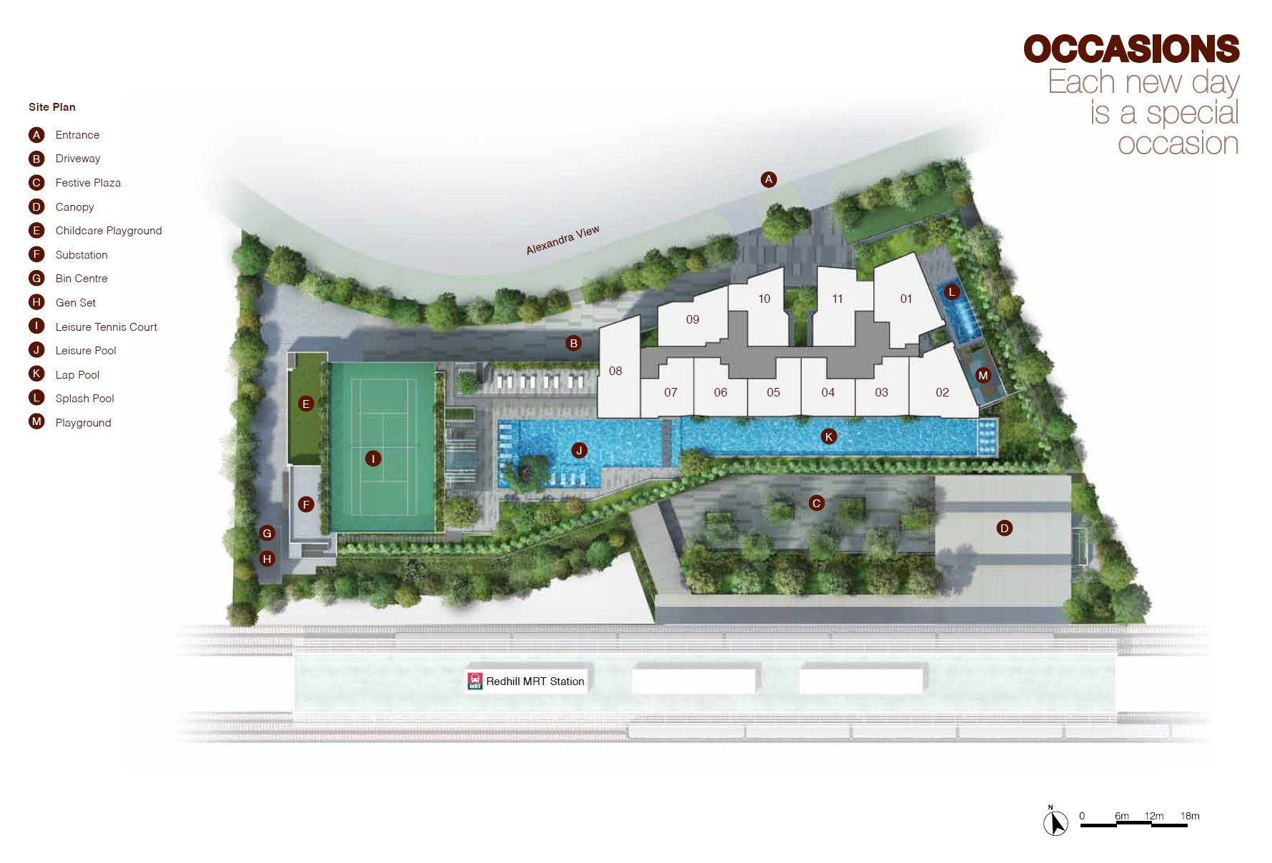 Artra site plan