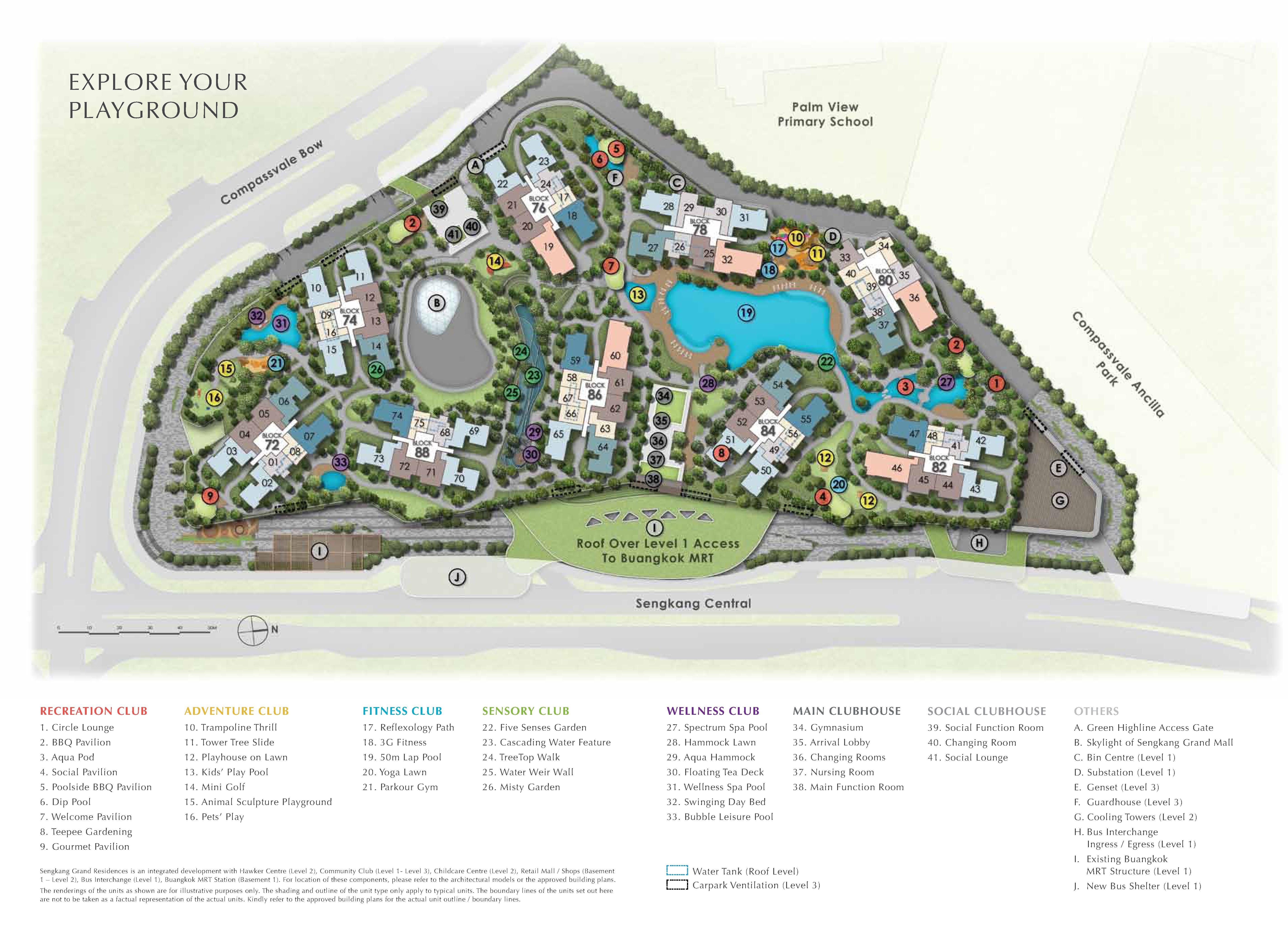Sengkang Grand Residences site plan